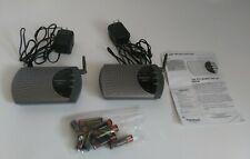 2 Radio Shack 900 MHz WIRELESS INTERCOMS w/ AC power adapter - model 43-3102