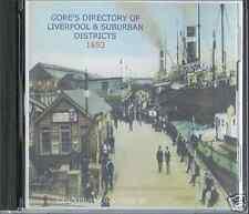GENEALOGY DIRECTORY OF LIVERPOOL & SUBURBS 1853 CD