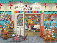 Jigsaw Puzzle Before There Were Malls Sugar & Spice 300 pieces NEW Made in USA