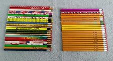47 Vintage Pencils Wood Wooden California Bright Smile Sheriff Long Beach CA