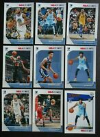 2019-20 Panini NBA Hoops Memphis Grizzlies Base Team Set of 9 Basketball Cards