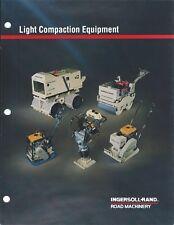 Brochure - Ingersoll-Rand - Light Compaction Equipment - 1991 (E4757)