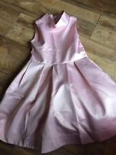 Next Signature Girls Pink Occassion Dress Age 8 Yrs