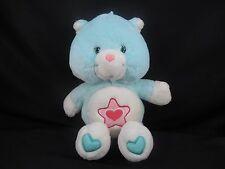 "2004 TCFC Care Bears Cousins PROUD HEART CAT Green Kitty 13"" Plush C4"