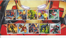 GB 2019 MARVEL COMICS HEROES STAMPS SET PACK