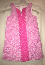 Girls Lilly Pulitzer For Target Pink Shift Dress Sz 5T