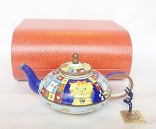 Boxed Charlotte di Vita Top Cat Teapot R164 - Trade Plus Aid Teapot