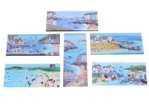 CANVAS PICTURE SEASIDE NOVELTY BEACH HARBOUR SCENES Ready To Hange