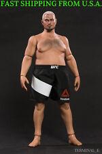 WorldBox 1/6 Mark Head Sculpt Durable Plump Male Figure Body Set UFC WWE ❶USA❶