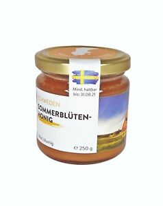 100% Raw Pure Natural Bee Honey, from Sweden, روهير ، ناتورليشر هونيج