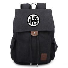 "Anime Dragon Ball DragonBall Z ""悟"" Canvas Laptop Backpack School Bag Rucksack"