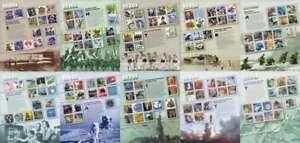 1900s-1990s Celebrate the Century Set of 10 Mint Stamp Sheet 3182-3191 $49.80 FV
