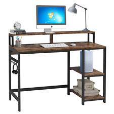 Computertisch Schreibtisch Bürotisch Arbeitstisch Kinder PC Tisch Büro mit Regal