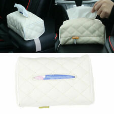 PU Leather Car Home Tissue Box Cover Napkin Paper Holder Towel Organizer Case