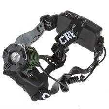 Waterproof 1600 Lumens CREE XM-L T6 LED Adjustable Zoomable Headlamp Headlight