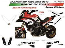 Adesivi per Ducati Multistrada 1200 2010/2012 design 90°Anniversario