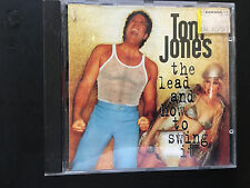 Tom Jones - The Lead and How To Swing It - CD - FREE POST