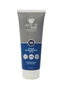 Aloe Up Pro Sports SPF50 Sunscreen Broad Spectrum Biodegradable Suncream
