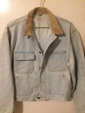 Rare Vtg Sz Large Ralph Lauren Polo Sportsman Denim Jean Jacket Made In The USA