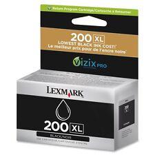 Genuine OEM Lexmark 200 XL Black Ink Cartridge For Pro 4000c 5000 5500 Printers