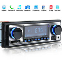 Bluetooth Vintage Car Radio MP3 Player USB AUX Classic Car Stereo Audio C5C2