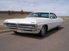 1967 Pontiac Grand Prix 428 V8, White, Refrigerator Magnet, 40 Mil