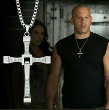 Collana con Croce da Uomo Domenic Toretto Fast and furious catena di Vin Diesel