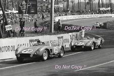 Equipe Los Amigos & Fernand Tavano Ferrari 500 TRC Le Mans 1957 Photograph