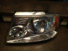 04-08 Lincoln Mark Ford F-150 Front LH Left Driver Side Headlight Chrome P221