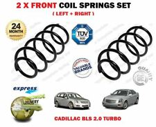 FOR CADILLAC BLS + ESTATE 2.0 T TURBO FLEXPOWER 2006-> 2X FRONT COIL SPRINGS SET