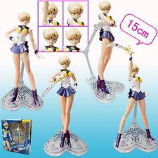 Sailor moon Sailor Uranus Tenoh Haruka Anime Manga Figuren Set H:15cm Neu