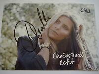 ⭐⭐⭐⭐ Sophia Thomalla ⭐⭐⭐⭐ Autogramm ⭐⭐⭐⭐ 10 cm x 15 cm ⭐⭐⭐⭐ Autogrammkarte ⭐⭐⭐⭐