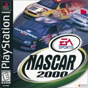 Nascar 2000 - Authentic Sony PlayStation 1 Game