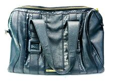 Steve Madden Large Pebbled Leather Black Purse Hand Bag