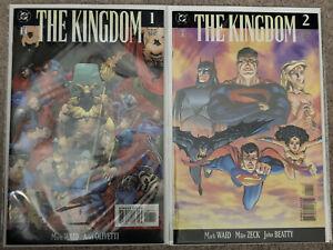 The Kingdom (DC) #1, 2, Complete, Mark Waid, Mike Zeck, Kingdom Come, 1999, NM