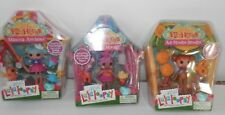 lalaloopsy LOT silly  funhouse theme HTF ITEMS minis ace , marina, sahara Set 3