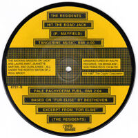 THE RESIDENTS Hit The Road Jack-Excerpt From For Elsie 45rpm Vinyl Picture Disc