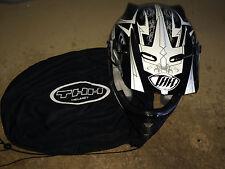THH TX-22 Mx Helmet Black/Silver  Size XS