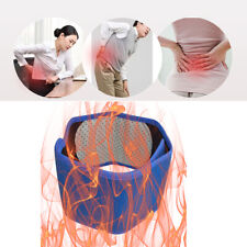 Self-Heating Blue Belt Tourmaline Magnetic Therapy Waist Support Comfortable