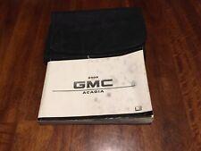 2008 GMC Acadia Owners Manual User Guide