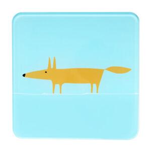 Scion Mr Fox Blue Pot Stand Trivet Pan Rest Heatproof Glass Surface Protector