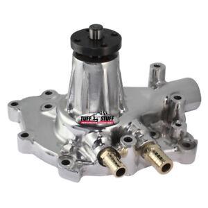Tuff Stuff Water Pump 1432AB; SuperCool HV Polished Alum for Ford 289/302/351W