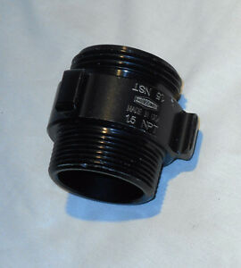 "(4 Pcs) DIXON, Aluminum Double Male Adapters Rocker Lug 1.5"" NPT x1.5"" NH(NST)"