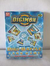 DIGIMON DIGITAL MONSTERS DIGI-BATTLE CARD GAME STARTER SET 1ST EDITION 2 PLAYER