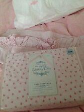 NIP Rachel Ashwell Simply Shabby Chic Pink Mon Ami TWIN Sheet Set