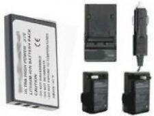 Battery + Charger f/ Aiptek Z300 HD-V AHD C100 AHD H125