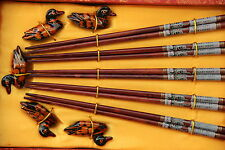 Baguettes Chinoises-Chopsticks-Kuai Zi-Junquillos-Stäbchen-bacchette-opera pekin