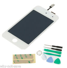 Full lcd Digitizer Glass Screen Display Replacement Part for Ipod touch 4 White