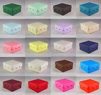 Scallop Lid Wedding Favour Boxes - Choose Colour - Choose QTY - SC17 10, 50, 100