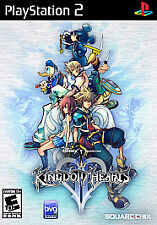 Kingdom Hearts II (Sony PlayStation 2, 2006) Complete